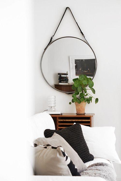 Spiegel woonkamer