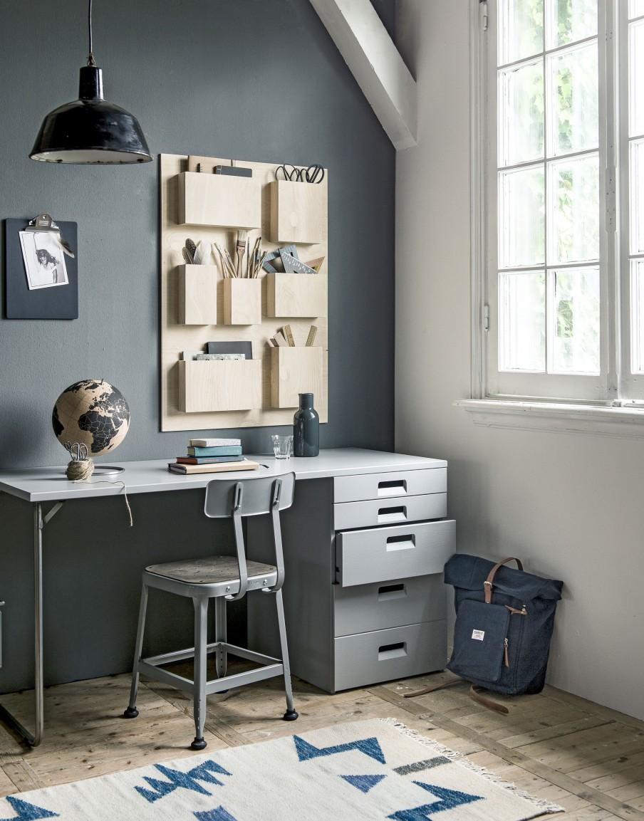 10x een opgeruimd kantoor thestylebox for Kantoor interieur ideeen