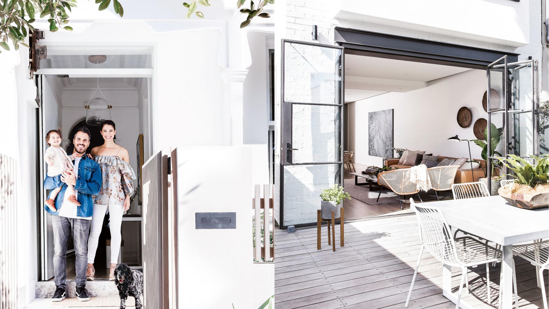 australisch-familie-interieur-voordeur