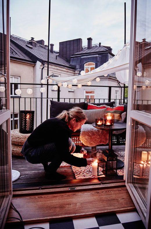 balkon-inrichten-verlichting