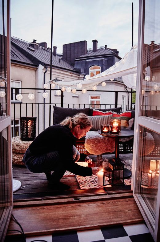Een balkon inrichten - THESTYLEBOX
