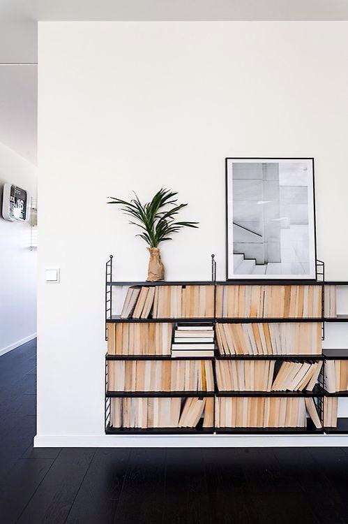 Boeken stylen in de woonkamer - THESTYLEBOX