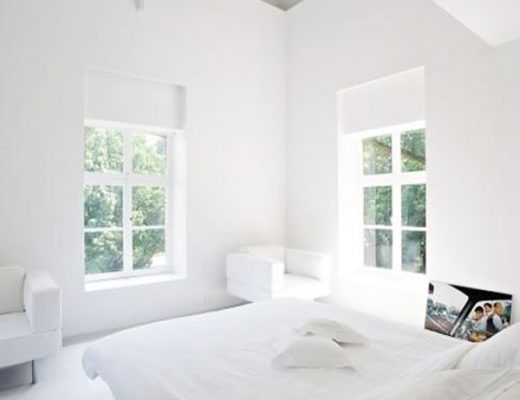 De witte slaapkamer