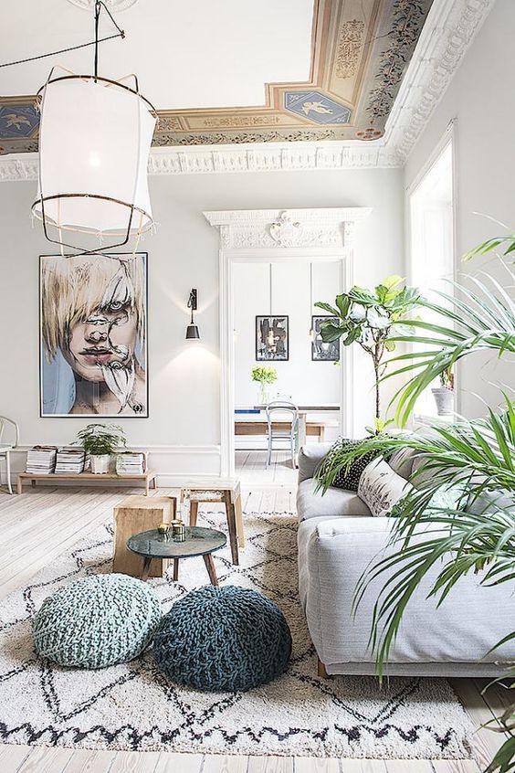 eclectisch-interieur-basis-plafond