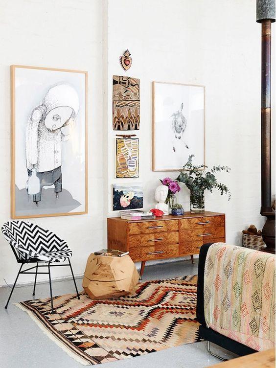 eclectisch-interieur-oud-nieuw-prints
