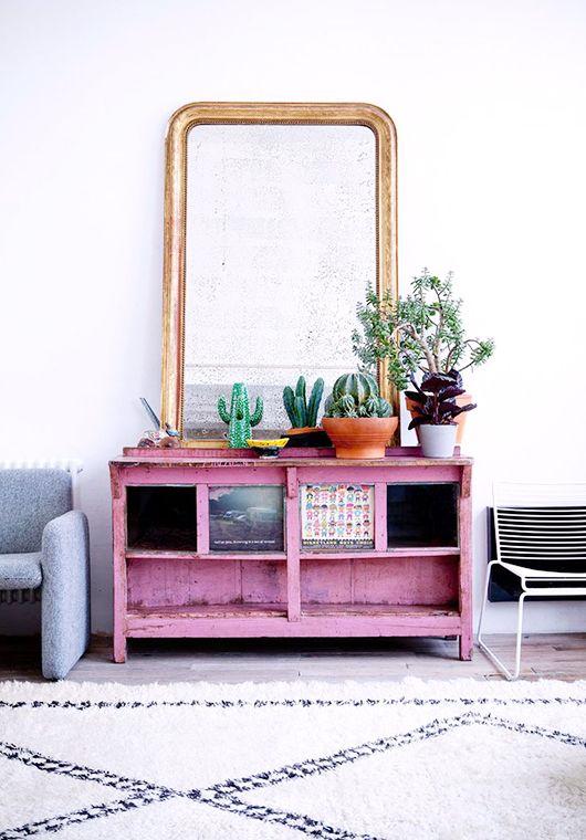 eclectisch-interieur-oud-nieuw-roze