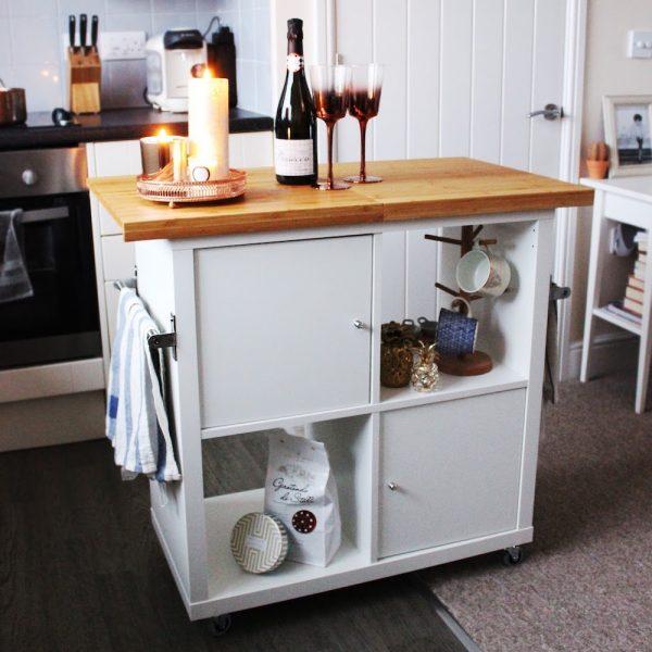 IKEA hack Kallax keuikeneiland