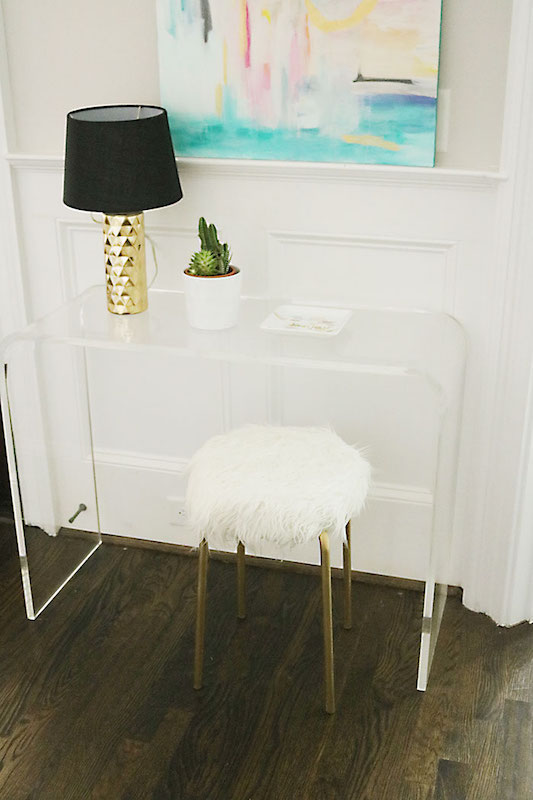 IKEA hack Marius krukje met bont