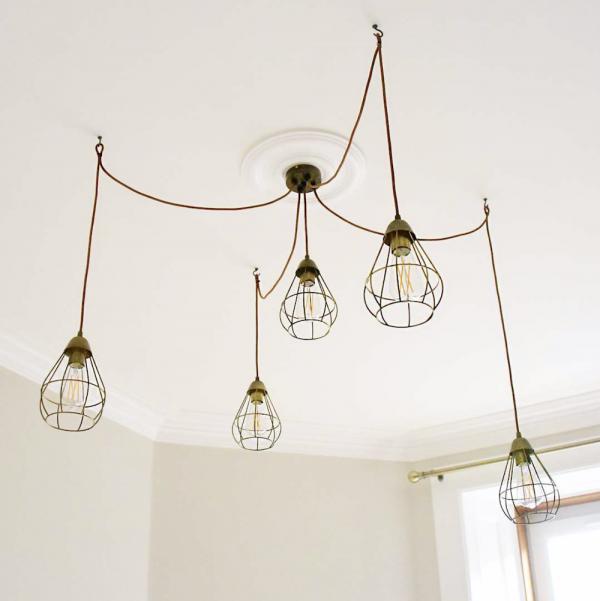 IKEA hacks Slättbo hanglampen