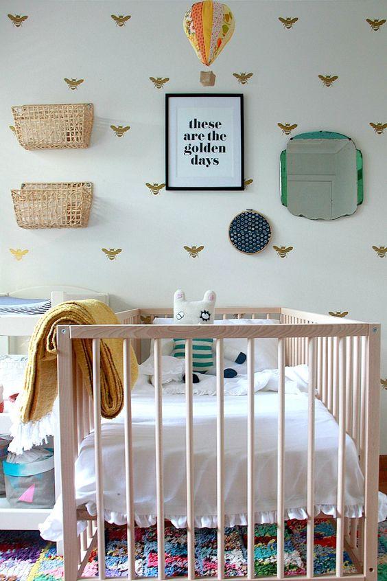 kleine-babykamer-wand