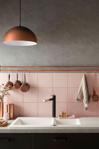 Keuken kleuren combinaties thestylebox - Roze keuken fuchsia ...