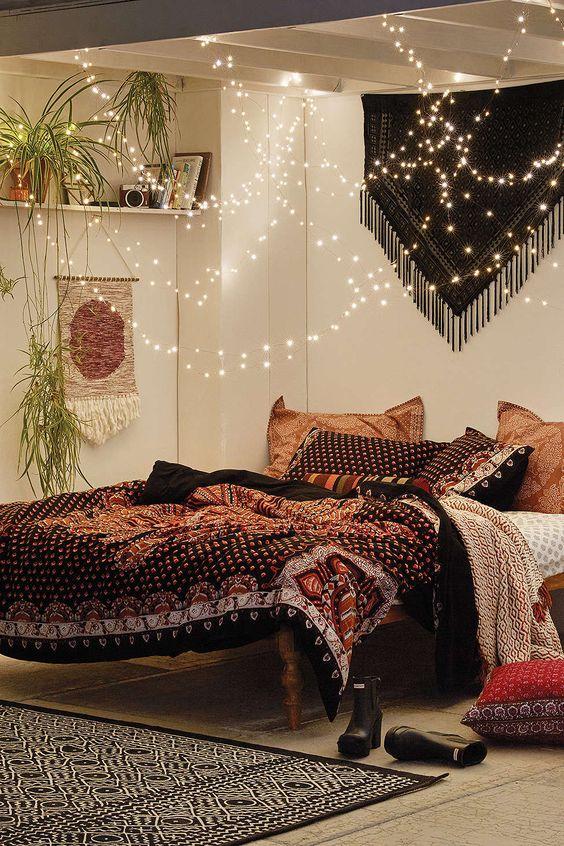 knusse-slaapkamers-lampjes