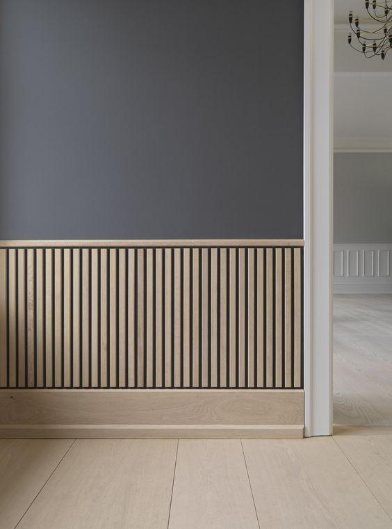 Lambrisering-modern