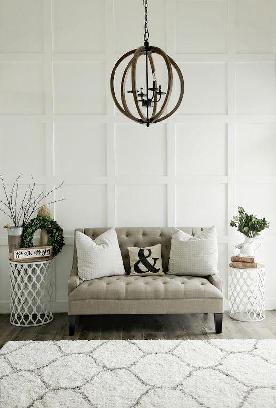Lambrisering-plafond