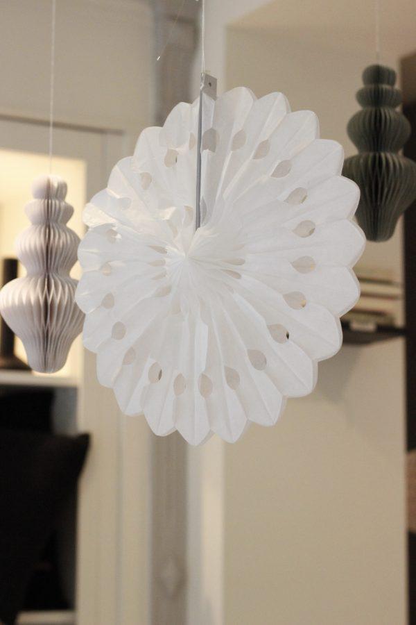 witte versiering