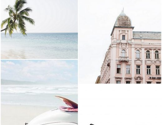 moodboard travelling