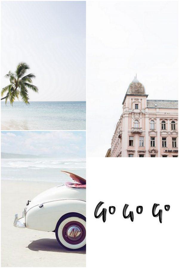moodboard travelling