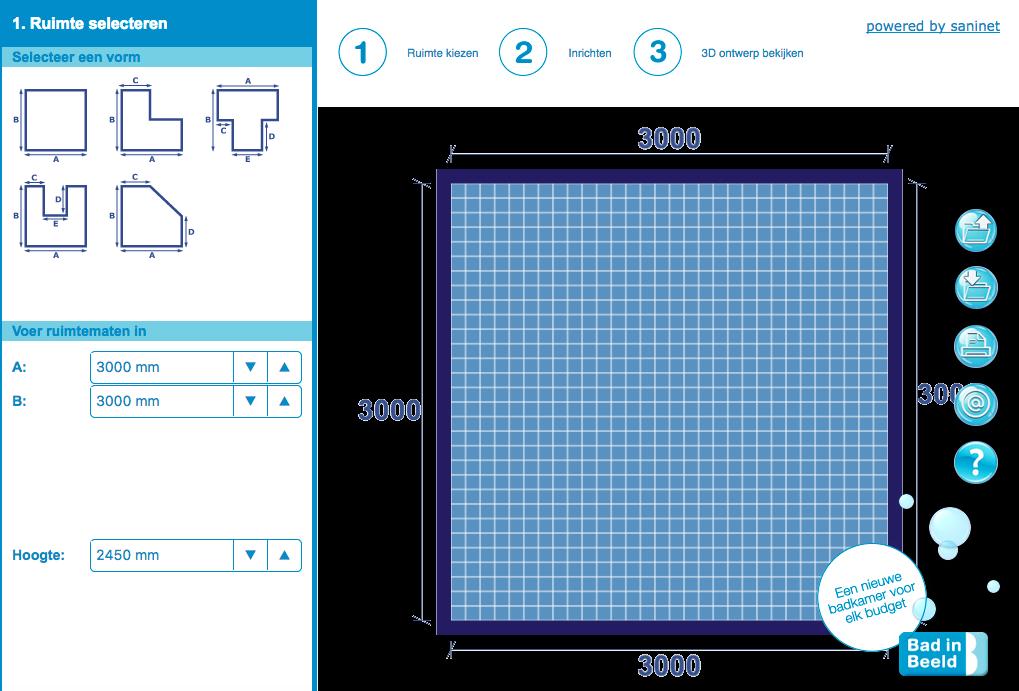 Online badkamer ontwerpen doe je op deze websites for Keuken ontwerpen 3d ipad