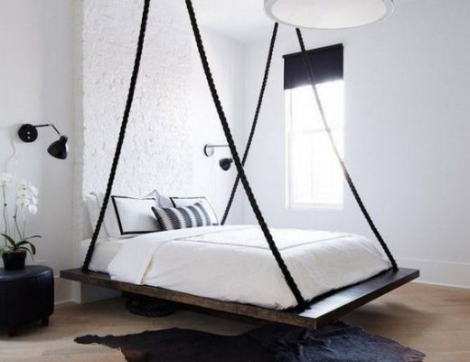 slaapkamer ideeën hangend bed