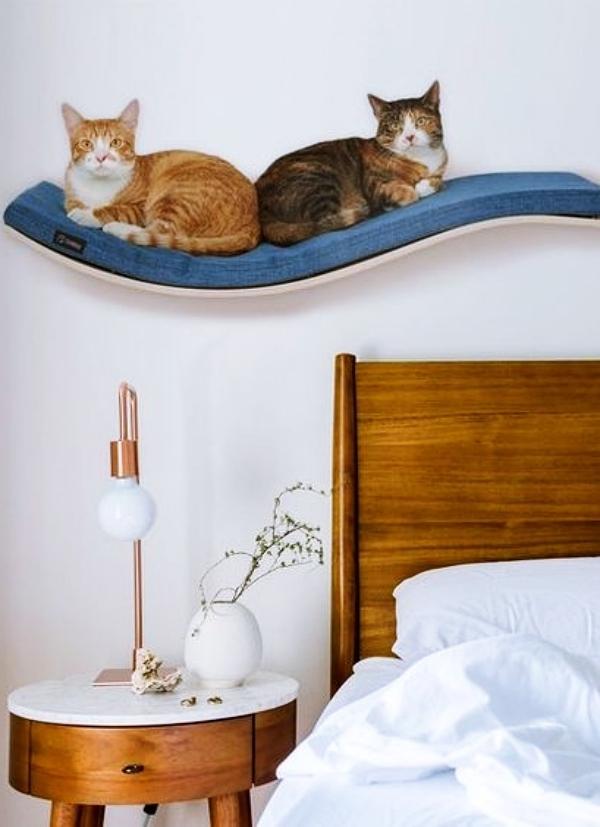 slaapkamer ideeën kattenbed