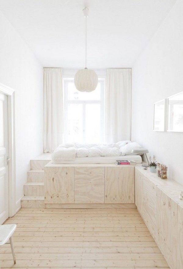 slaapkamer ideeën opbergruimte