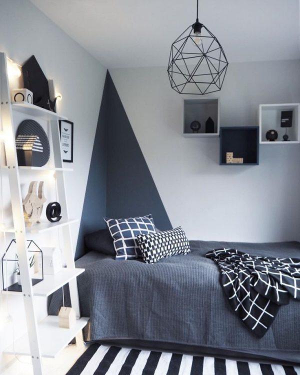 slaapkamer ideeën verven