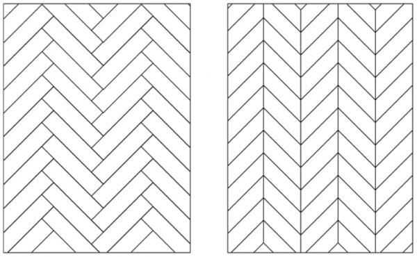 Hongaarse punt patroon
