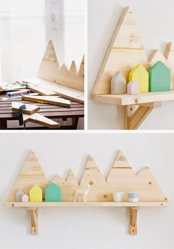 wanddecoratie-van-hout-plankje