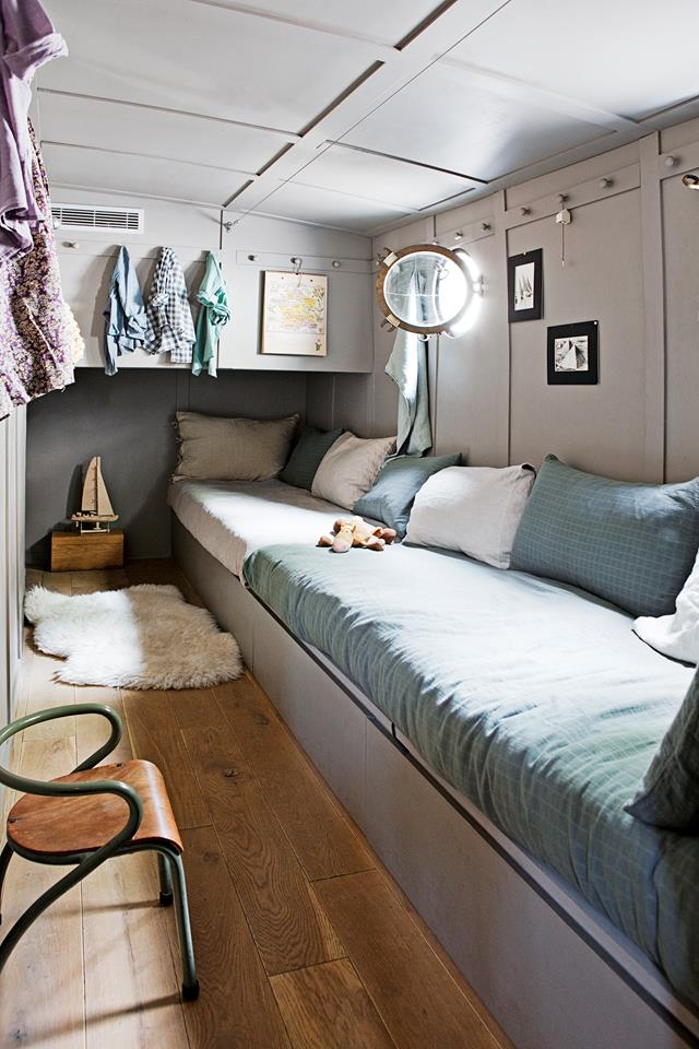 woonboot-interieur-slaapkamer