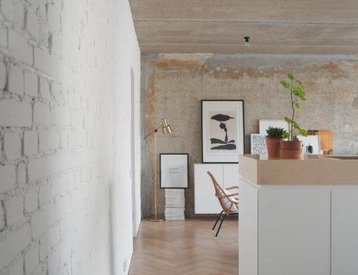 appartement beton wit