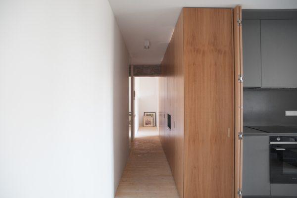 appartement hout keuken
