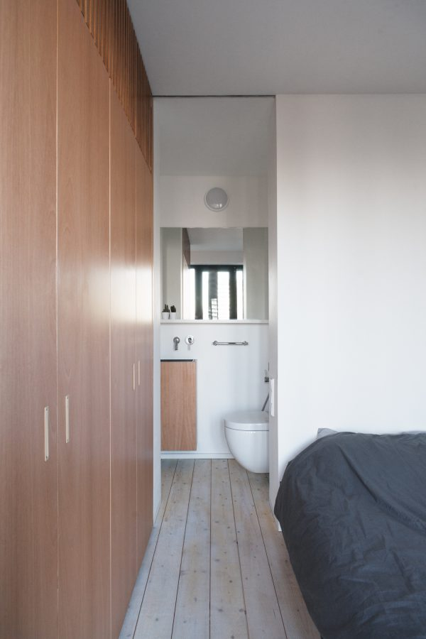 appartement hout woonkamer