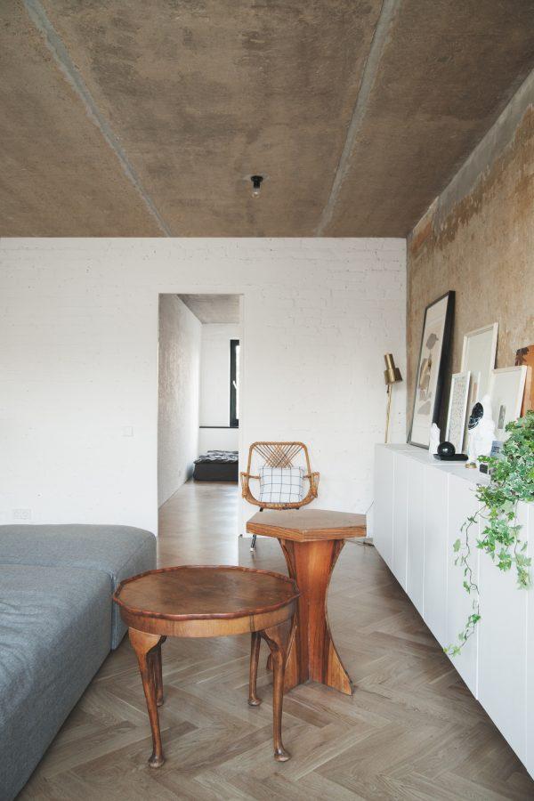 appartement visgraatvloer