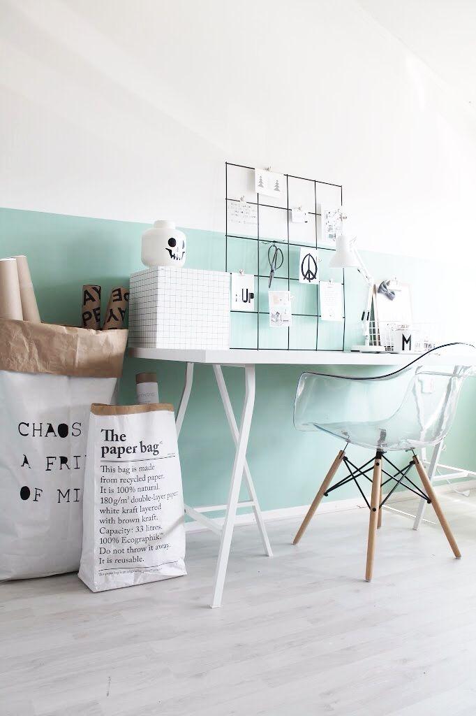 blauwe vitra grijze vitra armchair doorzichtig