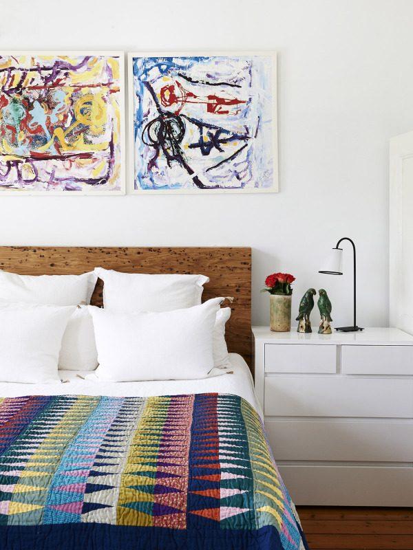 Australisch kleurrijk huis thestylebox - Hoofdeinde balans ...