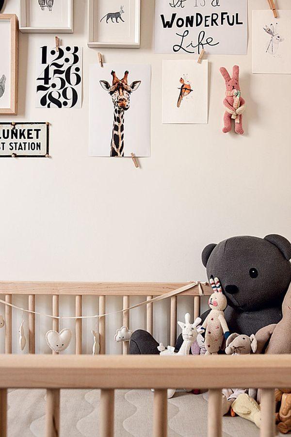 babykamer meisje dieren