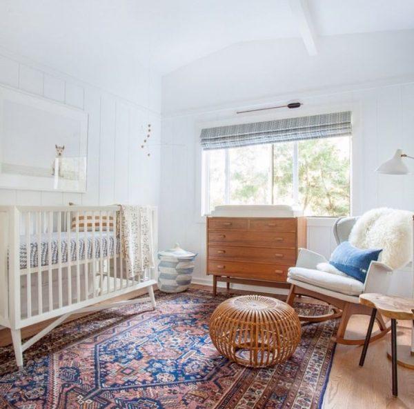 babykamer meisje Perzisch tapijt