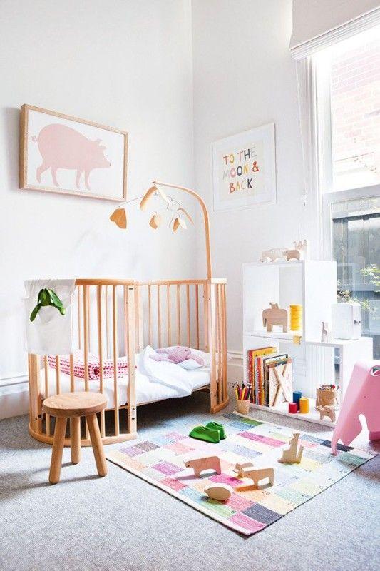 Babykamer meisje thestylebox for Foto slaapkamer baby meisje