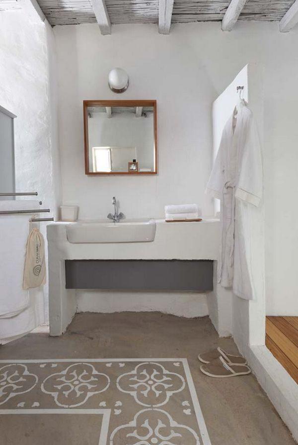 badkamer griekse stijl