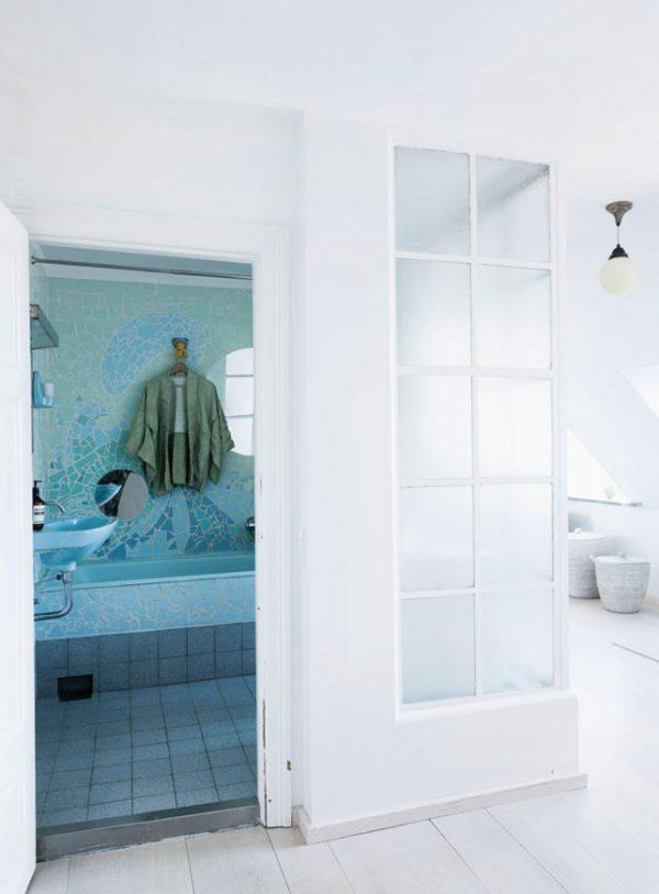 Huis met leuke do it yourselfs thestylebox - Badkamer kleur ...