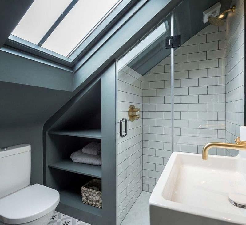 badkamer op zolder tips dakraam