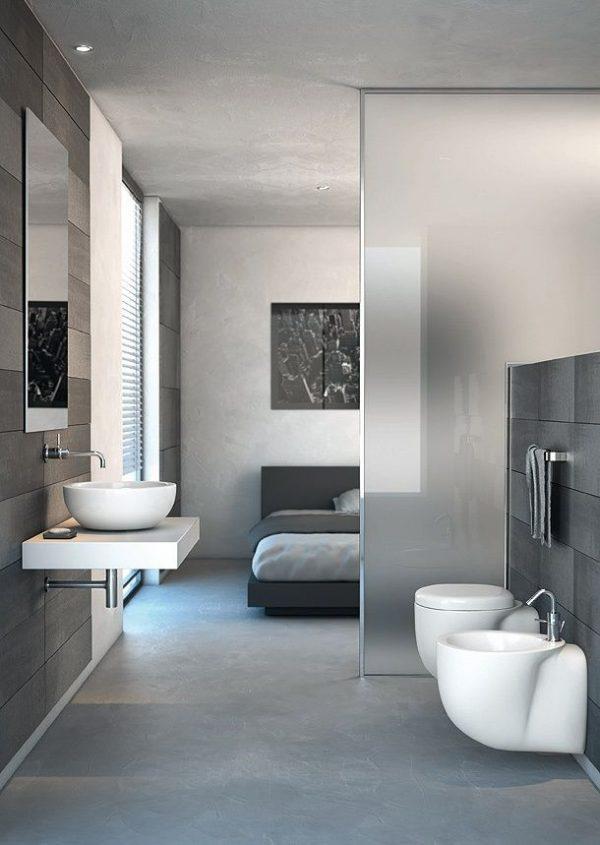 badkamer slaapkamer grijs