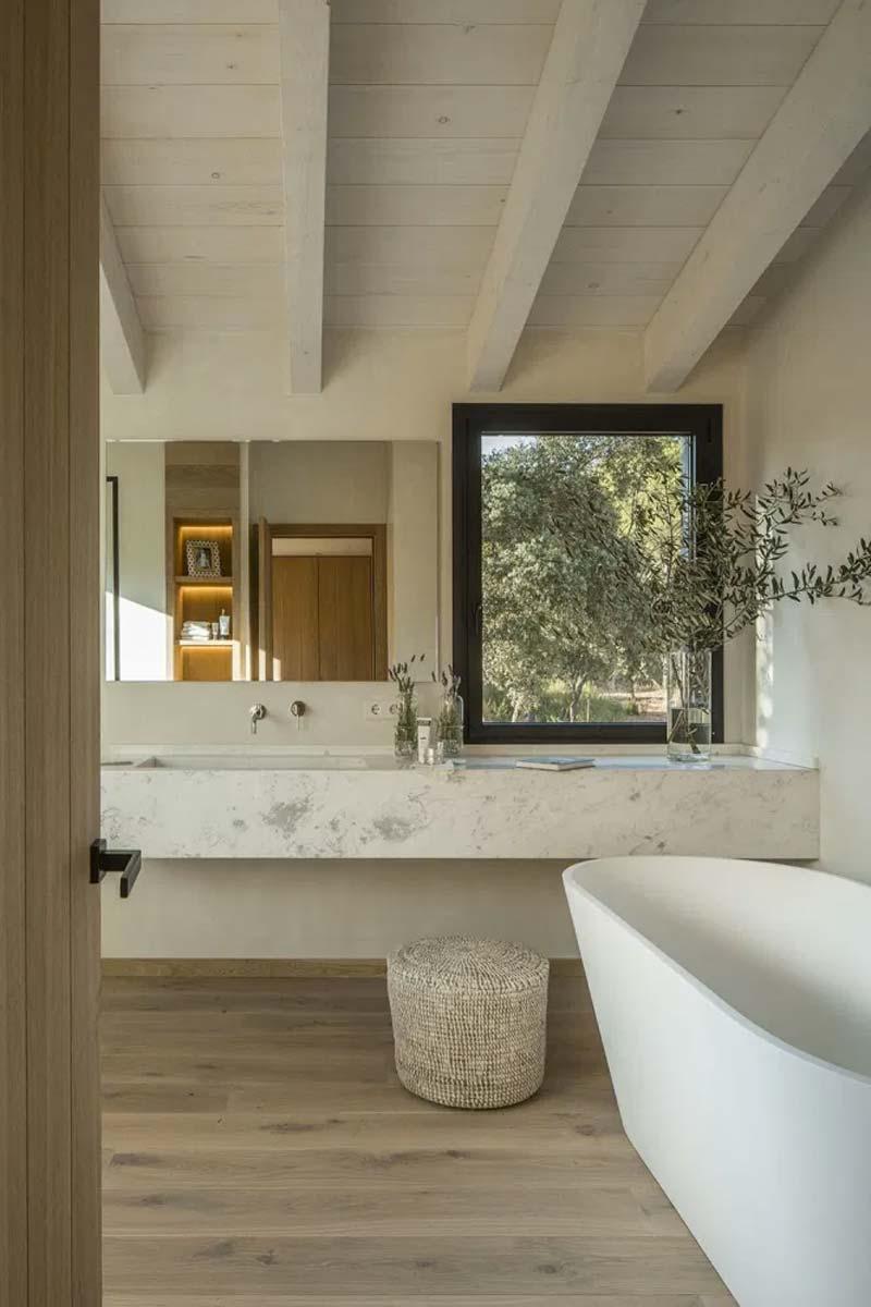 badkamer zolder tips maatwerk wastafel