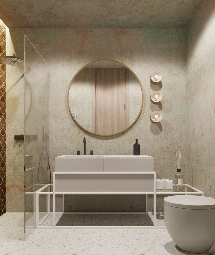 badkamers met inloopdouche