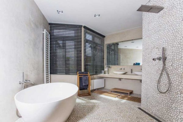badkamers voorbeelden één ruimte