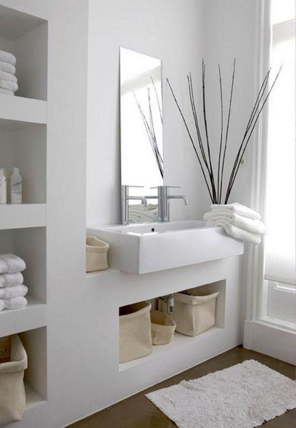 badkamers voorbeelden ingebouwde kasten