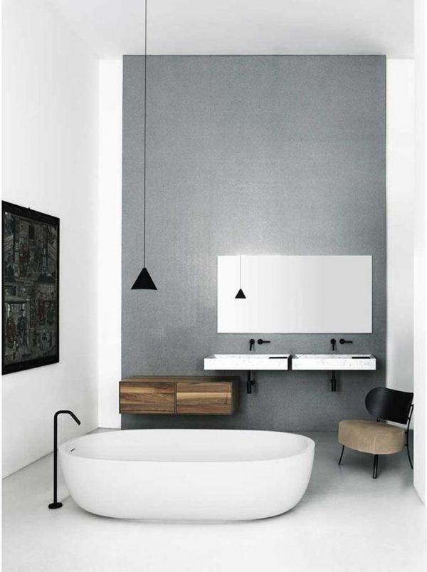 badkamers voorbeelden laag bad