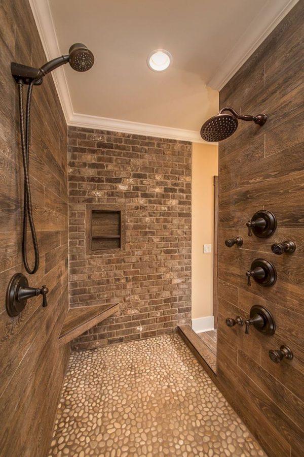 badkamers voorbeelden massagestralen