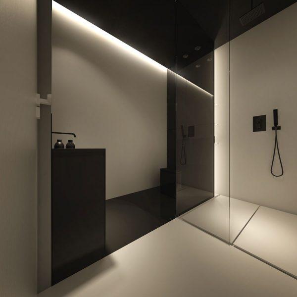 badkamers voorbeelden minimalistisch