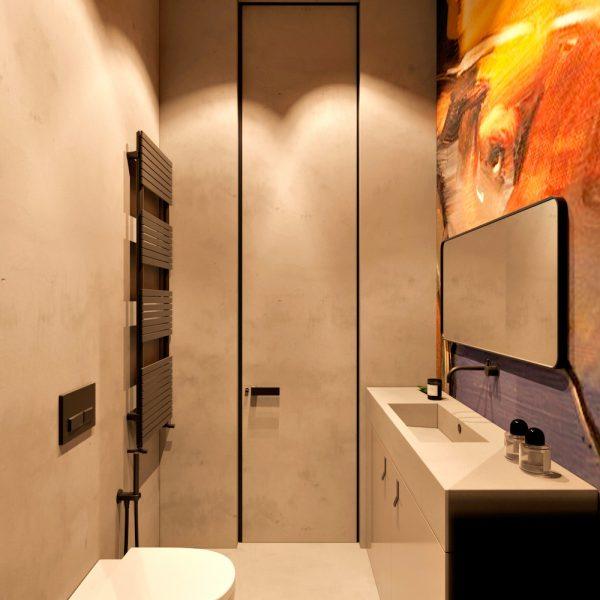 badkamers voorbeelden muurschildering 2